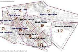 Kőbánya ellenzéki összefogás jelöltjei térképen