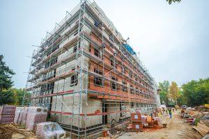 Már szerkezetkész Kőbánya új kórházi tömbje – fotókkal