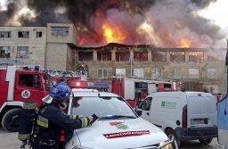 Helyzetjelentés a Martinovics téri tűzoltó laktanya állapotáról