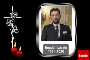 Bogdán Lászlót július 24-én búcsúztatják Cserdiben